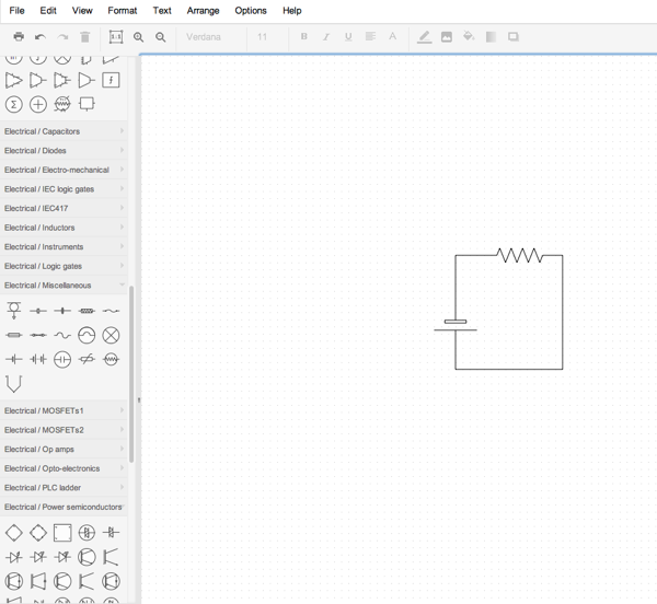 thinking about drawing and teaching circuits