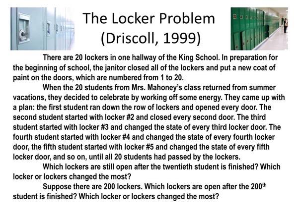 Lockerproblem